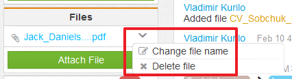 change file name