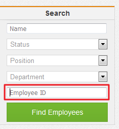 Search by Employee ID