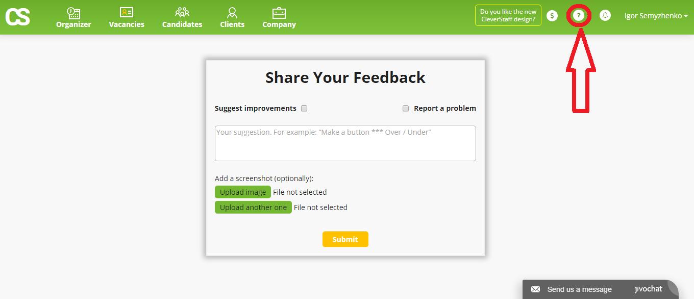 cleverstaff _ feedback