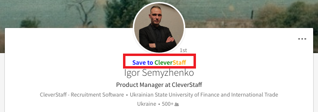 LinkedIn & CleverStaff Integration