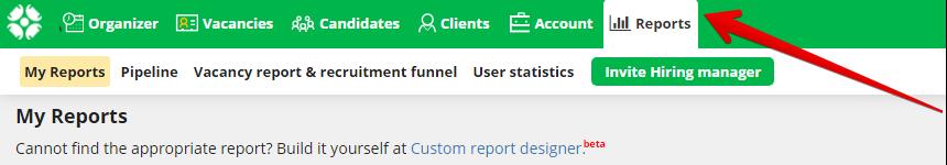 """0 3 - New feature: """"Custom report designer"""""""