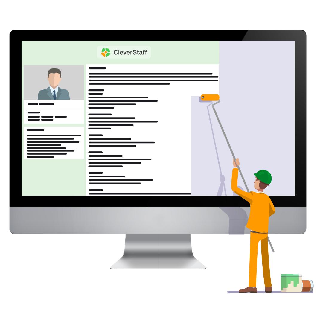 redesign blog - Редизайн внешнего профиля кандидата