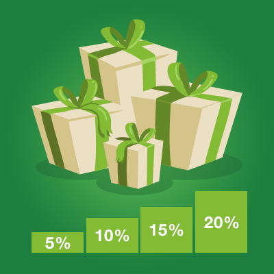 01.02 2 3 - New system of bonuses and discounts in CleverStaff