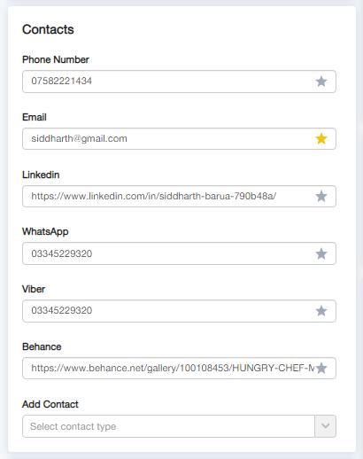 kontakty - Версія 2.0
